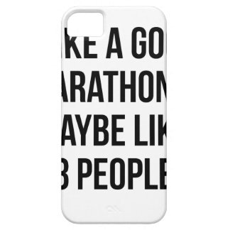 Marathon & 3 People Case For The iPhone 5