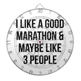 Marathon & 3 People Dartboard