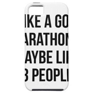 Marathon & 3 People iPhone 5 Case