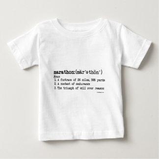 Marathon Defnition Baby T-Shirt