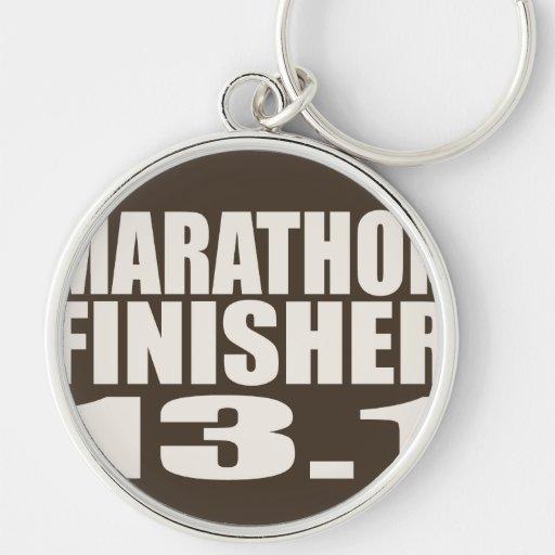 Marathon Finisher Keychain