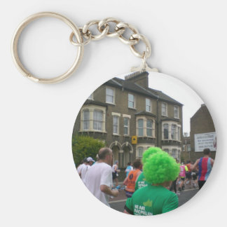 Marathon in London 2010 Basic Round Button Keychain
