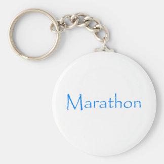Marathon Key Chains