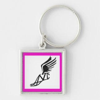 Marathon Keychain - Pink