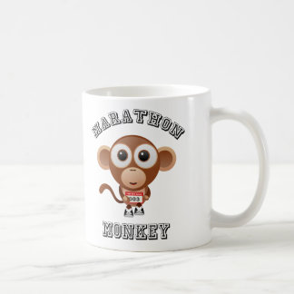 Marathon Monkey Coffee Mug