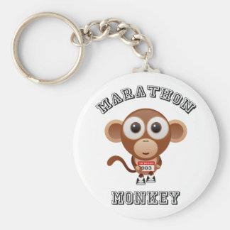 Marathon Monkey Keychain