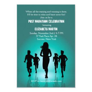 Marathon Run - Post Marathon Party Invitation