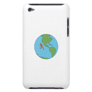 Marathon Runner Running North and South America Dr Barely There iPod Cases