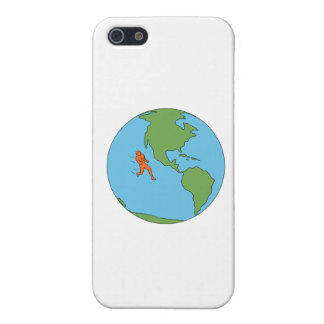 Marathon Runner Running North and South America Dr iPhone 5/5S Cover
