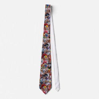 Marathon Runners Necktie