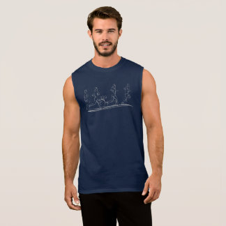 Marathon Runners Sleeveless Shirt