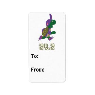 Marathon Turtle Runner in Purple