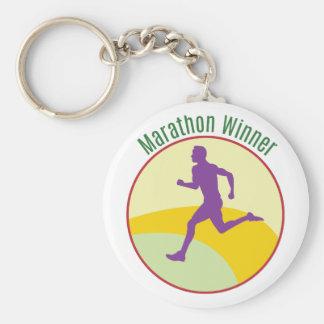 Marathon Winner Keychain