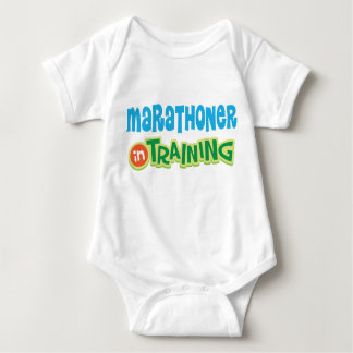 Marathoner in Training Baby T-shirt