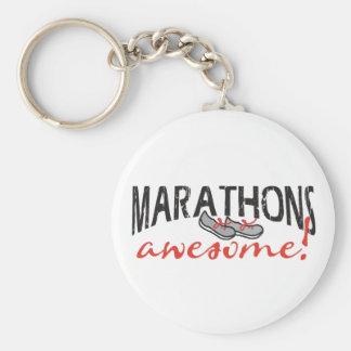 Marathons Awesome! Key Chains