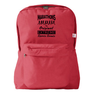 MARATHONS, the original extreme sports events Backpack