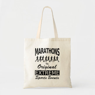 MARATHONS, the original extreme sports events Tote Bag