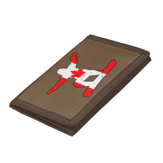 MARATHONS, the original extreme sports events Tri-fold Wallet