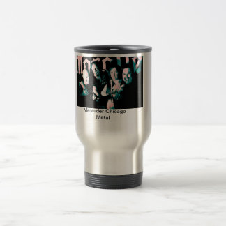 Marauder photo silver travel mug