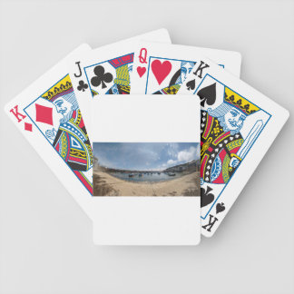 marazion harbour bicycle playing cards