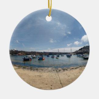 marazion harbour ceramic ornament