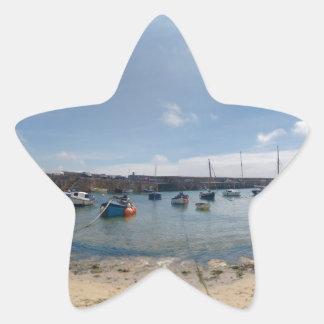 marazion harbour star sticker