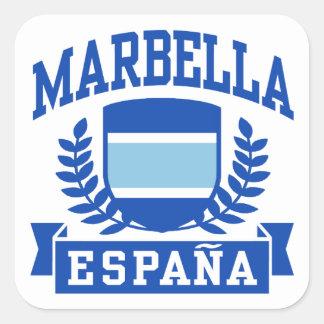 Marbella Espana Square Sticker