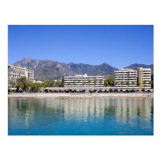 Marbella on Costa del Sol in Spain Postcard