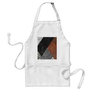 Marble abstract standard apron