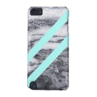 Marble and  Geometric Aqua Teal iPod Touch (5th Generation) Covers