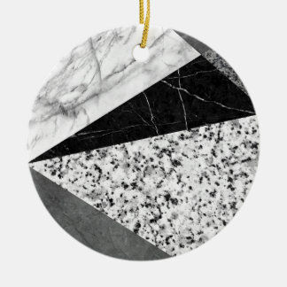 Marble and Granite Abstract Ceramic Ornament