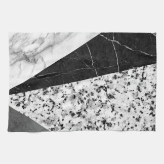 Marble and Granite Abstract Kitchen Towels