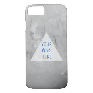 Marble and quote iPhone 7 case