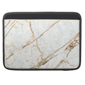 Marble (Black & White) Sleeve For MacBooks