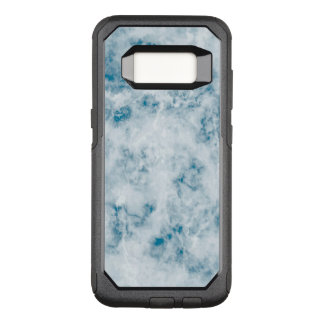 Marble Blue Texture Background OtterBox Commuter Samsung Galaxy S8 Case