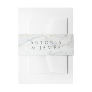 MARBLE BOXES INVITATION BELLY BAND
