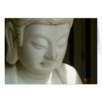 Marble Buddha Card