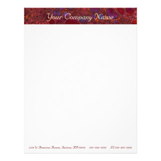 Marble Business Letterhead