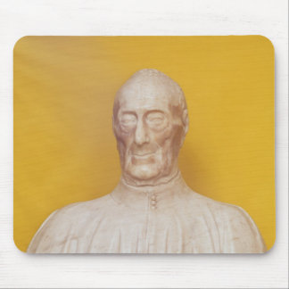 Marble bust of Giovanni Chellini Mouse Pad