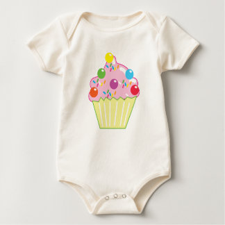 Marble Chocolates CUPCAKE Baby Bodysuit
