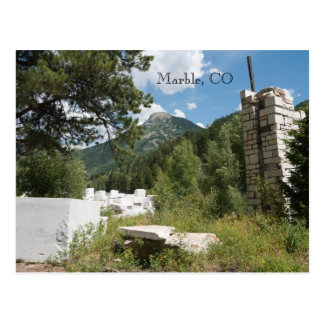 Marble, CO Postcard
