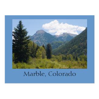 Marble, Colorado Postcard