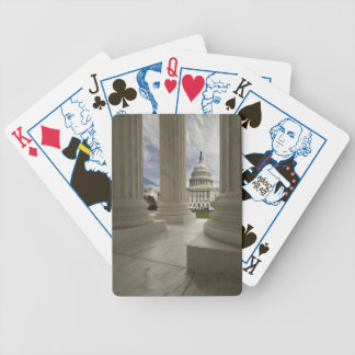 Marble Columns and Capital Bicycle Playing Cards