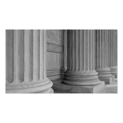 Marble Columns Pack Of Standard Business Cards