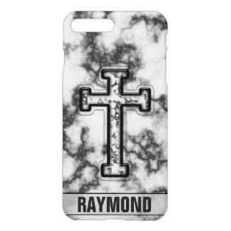 Marble Cross Custom iPhone 8 Plus/7 Plus Case