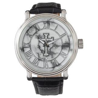 Marble Cross Watch