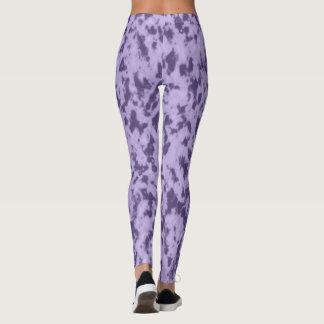 Marble design leggings