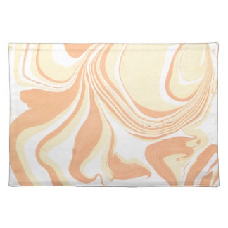 Marble design placemat