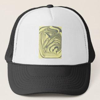 Marble design trucker hat