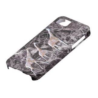 Marble effect giraffe Iphone case. iPhone 5 Cases